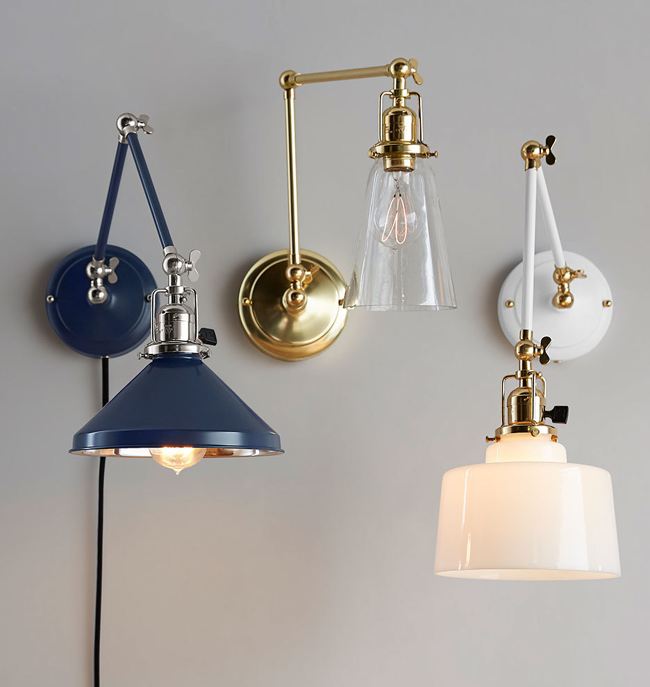 imbrie articulating pin up sconce rejuvenation