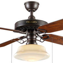 Heron ceiling fan with light kit 4 blade ceiling fan with light heron ceiling fan with light kit aged bronze fumed oak blades opal low profile schoolhouse shade mozeypictures Images