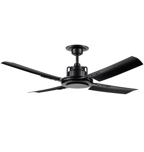 Peregrine industrial ceiling fan no light 4 blade ceiling fan qty aloadofball Image collections