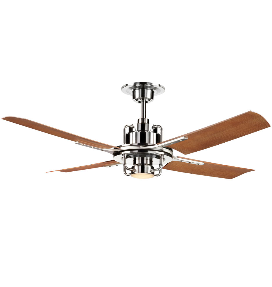 Peregrine Industrial LED Ceiling Fan   LED 4 Blade Ceiling Fan |  Rejuvenation