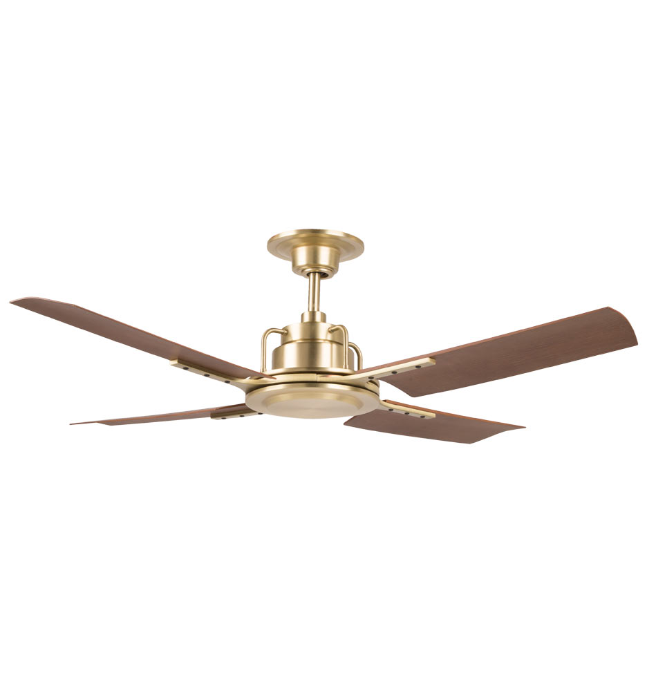 Peregrine Industrial Ceiling Fan   No Light 4 Blade Ceiling Fan |  Rejuvenation