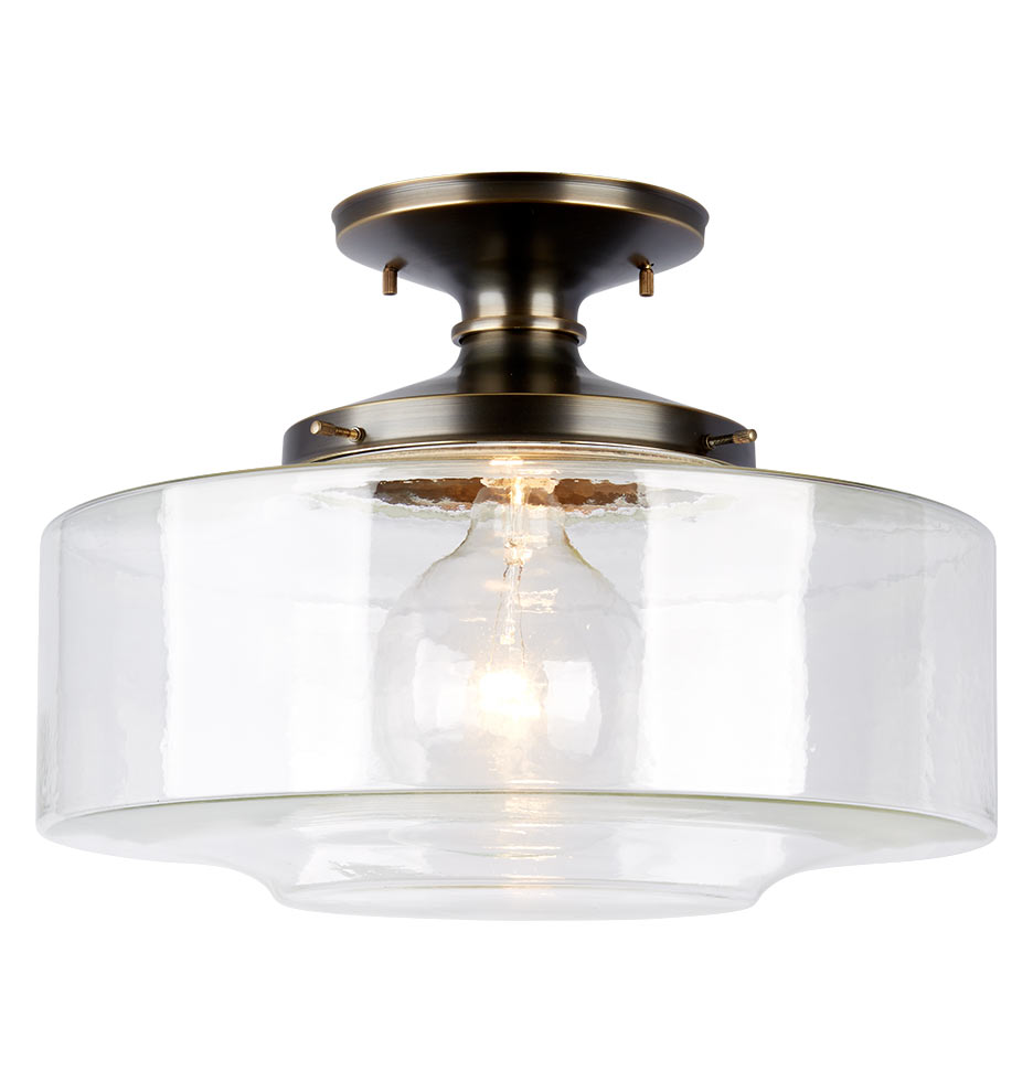 "Eastmoreland Semi Flush 8"" by Rejuvenation"