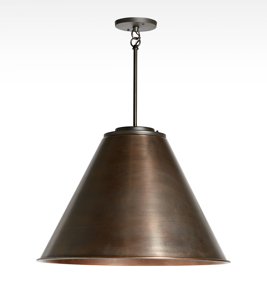 trading adds any elegance to garden teamed cone been nickel pendant of a with room has and touch glass the fittings lighting hoxton satin light