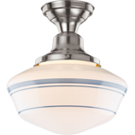"Rose City 6"" Fitter Semi-Flush Fixture"