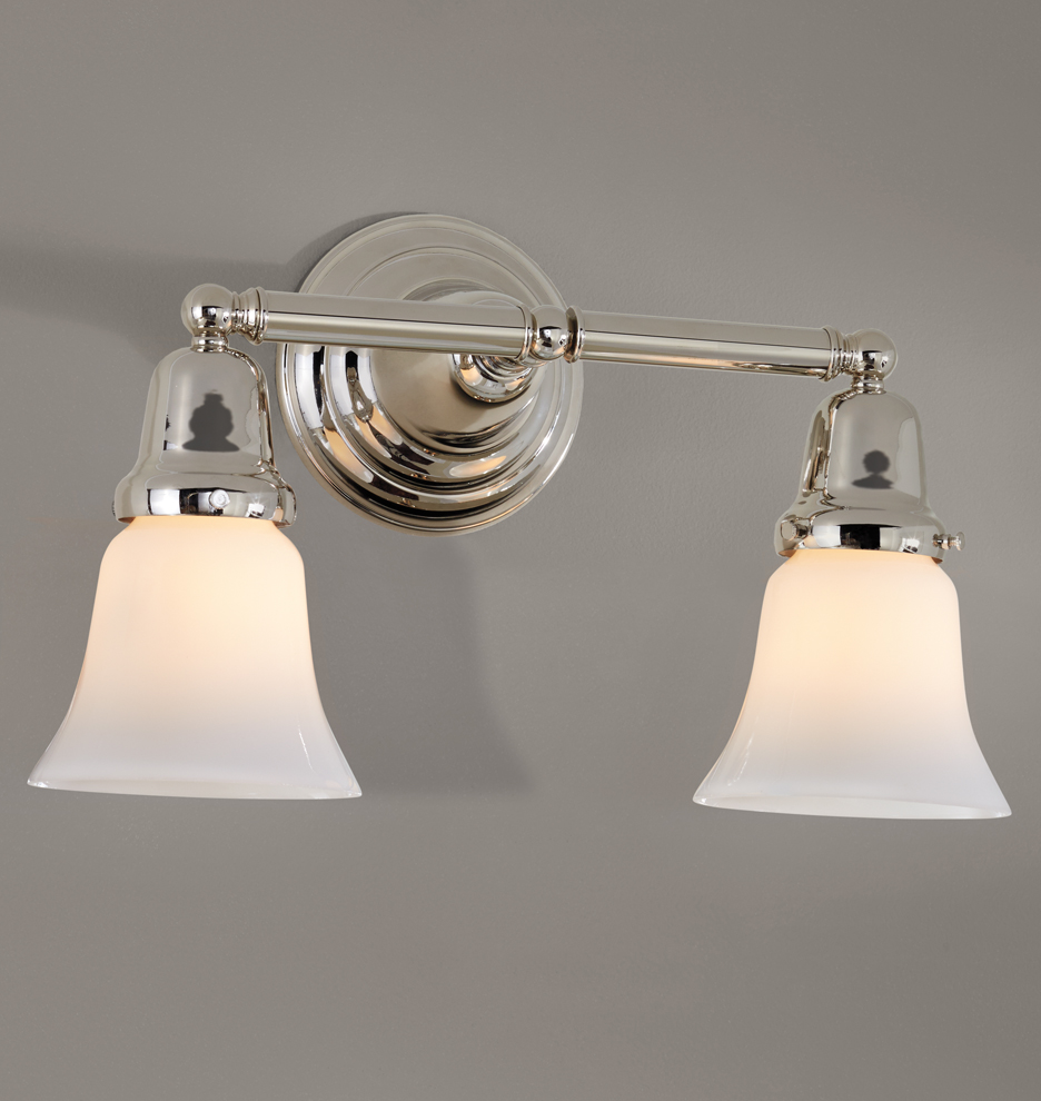 ... Carlton double sconce pn final grey a8676 m : double light wall sconce - www.canuckmediamonitor.org