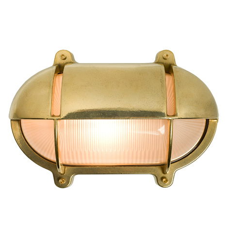 Large Oval Bulkhead Sconce Rejuvenation