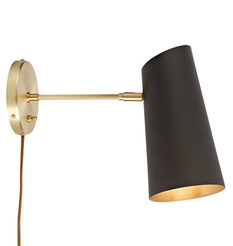 Cypress Medium Sconce Plug In Rejuvenation