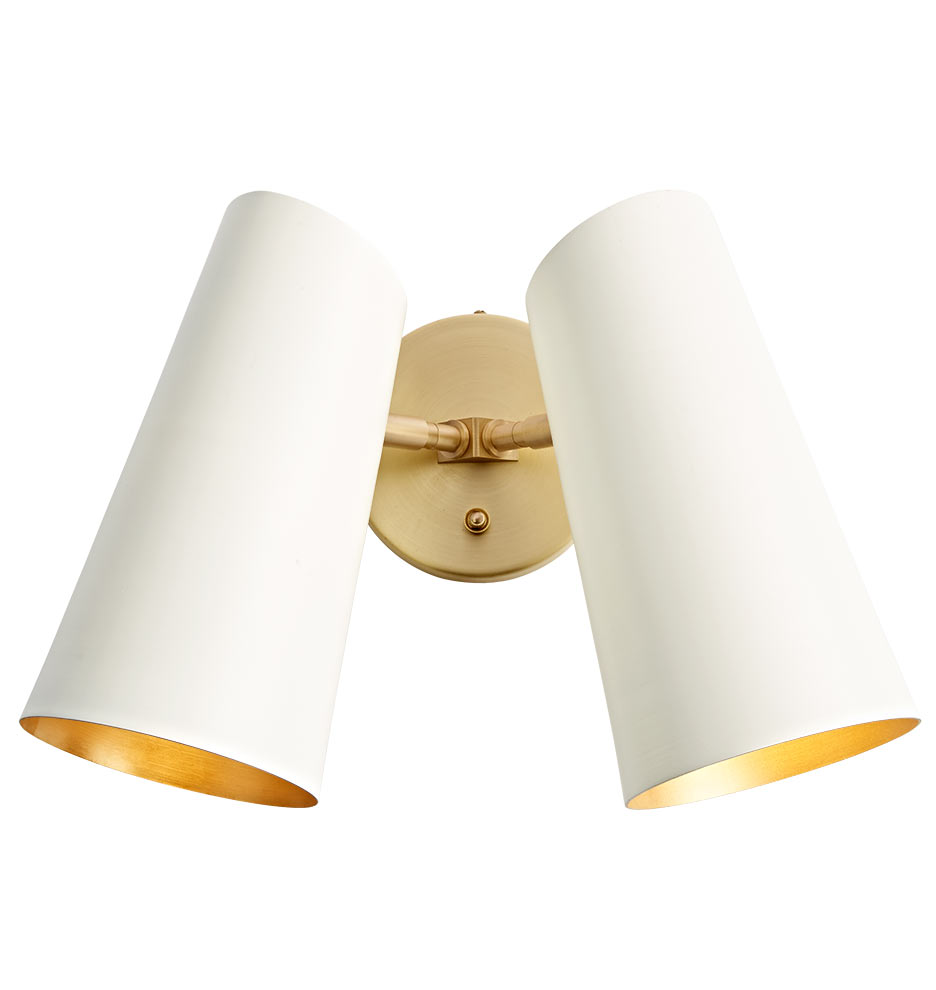 Cypress Double Sconce | Rejuvenation