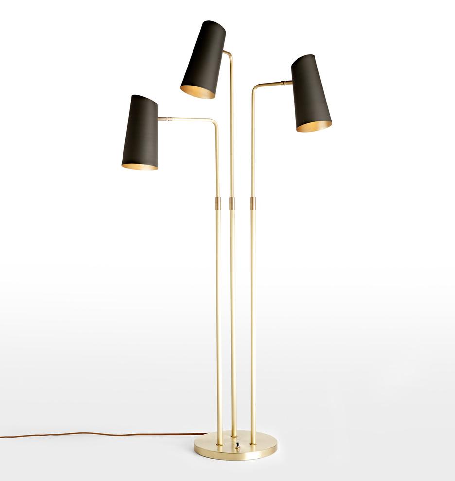 Cypress 3 arm floor lamp rejuvenation aloadofball Image collections