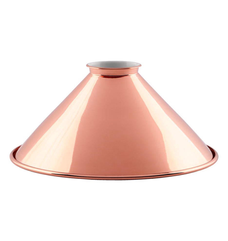 8 copper reflector cone shade rejuvenation b5632 021015 1 b5362 arubaitofo Image collections