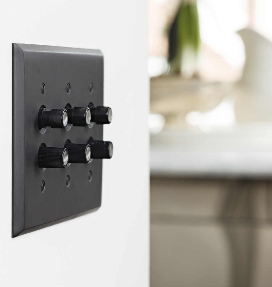 Trimmed PushButton ThreeWay Dimmer Switch Rejuvenation