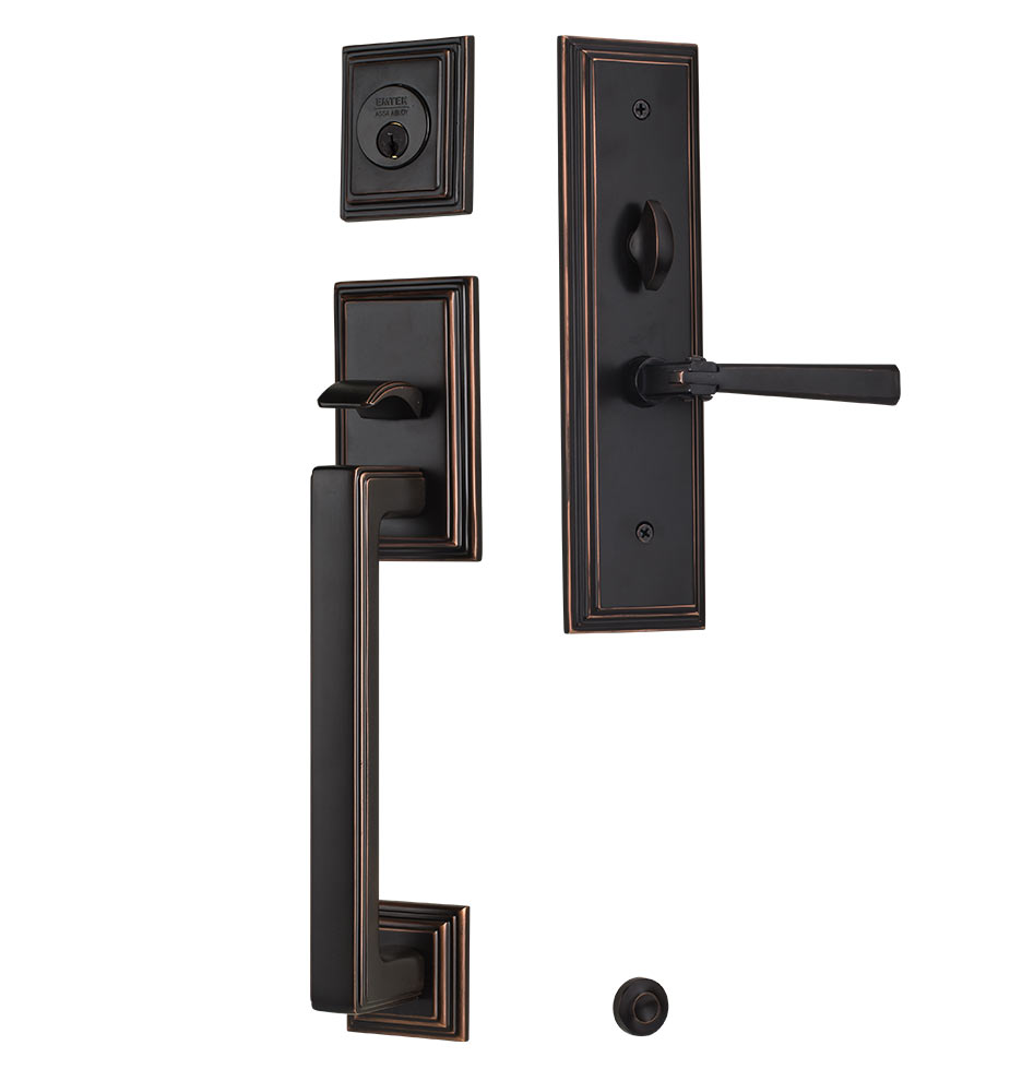 Mills Mortise Exterior Door Sets With Arts Crafts Lever Rejuvenation