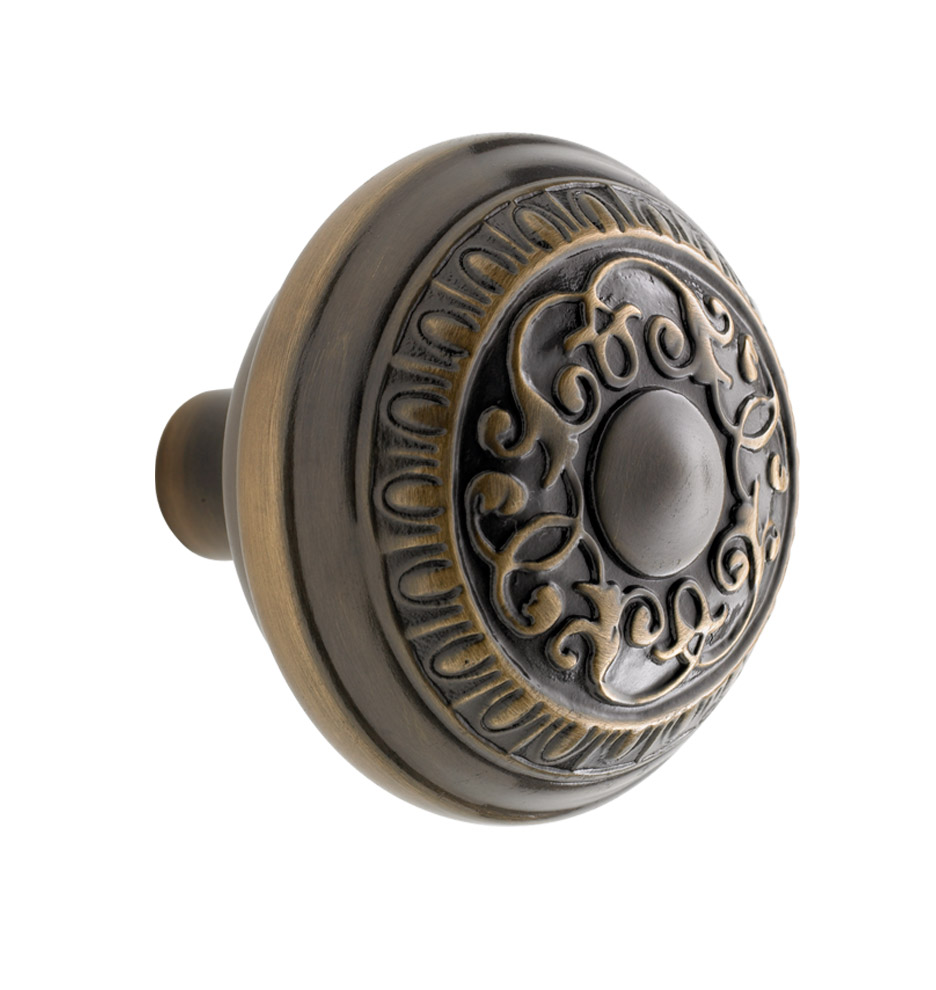 Beaux arts door knob rejuvenation for Exterior door knobs