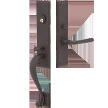 Gaines Lever Exterior Door Hardware Mortise Set