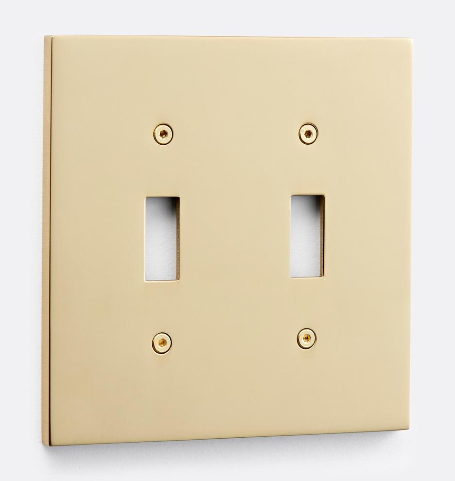 Fenton Double Toggle Switchplate Rejuvenation