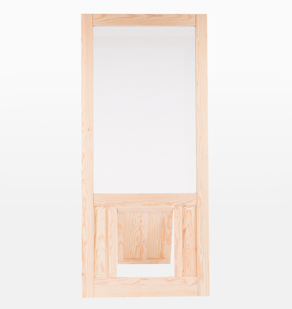 Fir Screen Door With Pet Door Rejuvenation