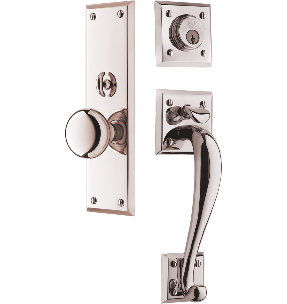 Coleman Knob Exterior Door Hardware Mortise Set Rejuvenation