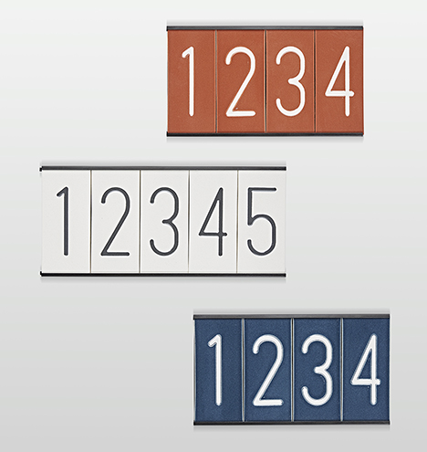House numbers merged m