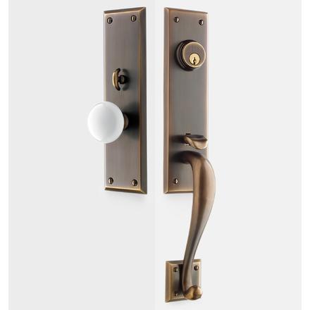 Front door handles Bronze Putman White Porcelain Knob Exterior Door Hardware Mortise Set Rejuvenation Front Door Hardware Rejuvenation