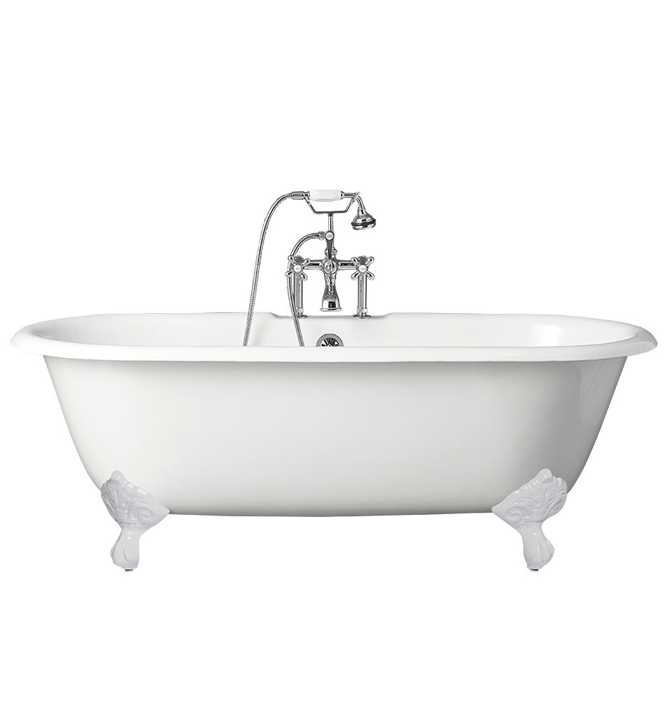 5-1/2\' Double-Ended Clawfoot Tub | Rejuvenation