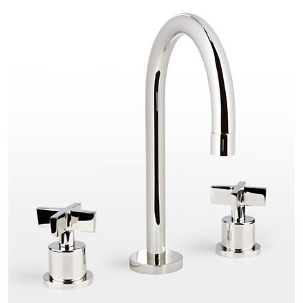 west slope cross handle widespread bathroom faucet - Cheap Bathroom Faucets
