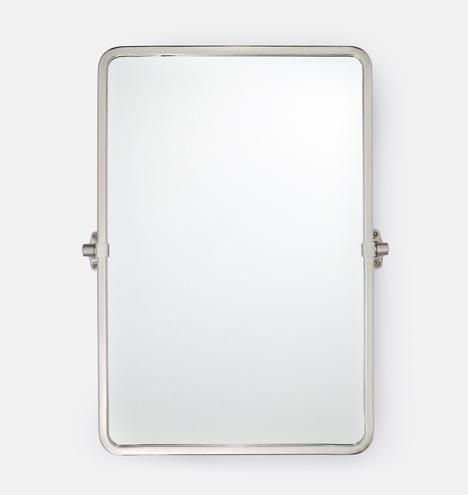 Tolson Rounded Rectangle Pivot Mirror Rejuvenation