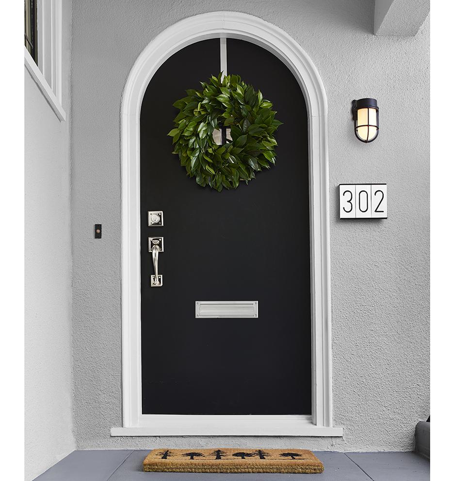 Large Mail Slot W/ Interior Frame | Rejuvenation