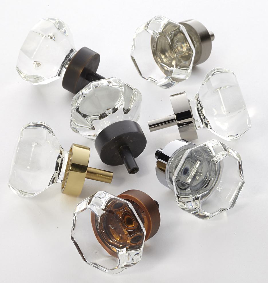 Octagon Glass Cabinet Knob | Rejuvenation