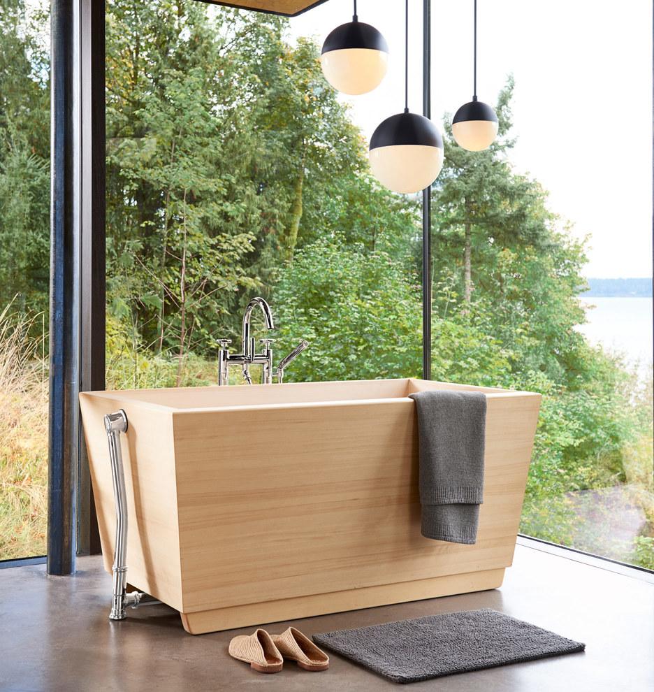japanese cedar soaking tub. C2933 wood tub 111716 04 c2933  161020 y2017b1 soaking v2 base 5877 Kyoto Ofuro Hinoki Wood Soaking Tub Rejuvenation