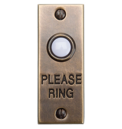 Quot Please Ring Quot Doorbell Button Rejuvenation