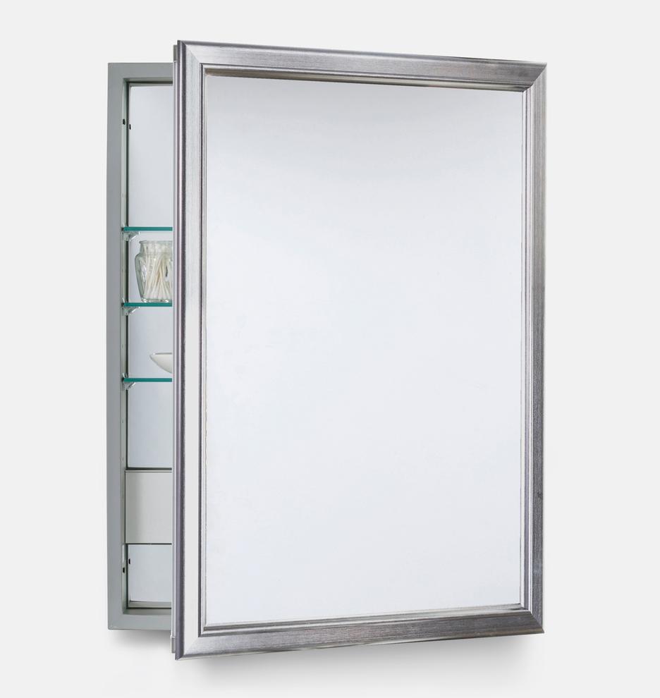 Framed Medicine Cabinet With Outlet Rejuvenation
