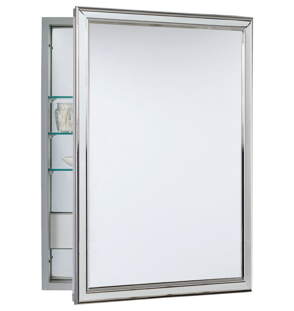 Merveilleux Product Description. Our Framed Medicine Cabinet With Outlet ...