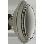 Beaded Oval Door Knob   Rejuvenation