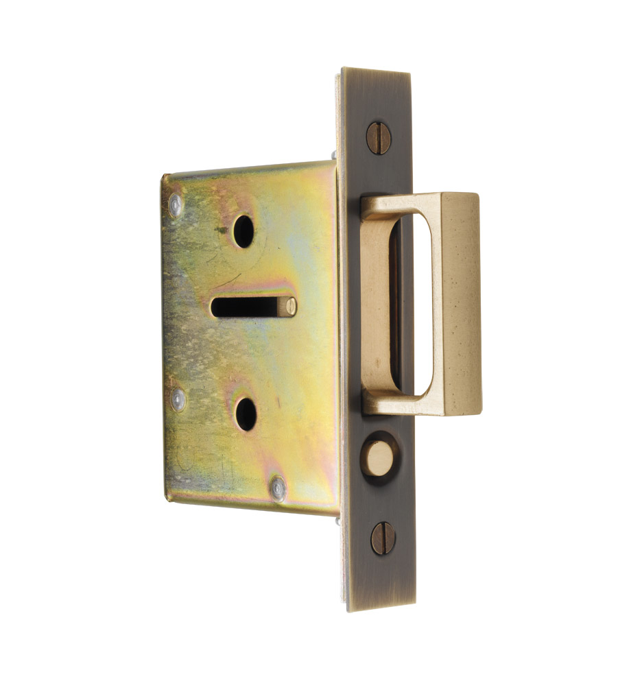 Z020354  sc 1 st  Rejuvenation & Pocket Door Passage Mortise Kit | Rejuvenation