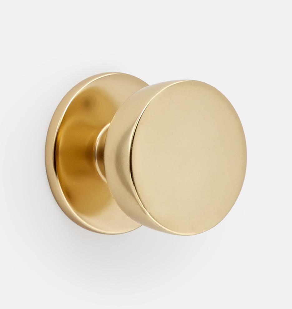 Tumalo Brass Interior Door Knob Set Rejuvenation
