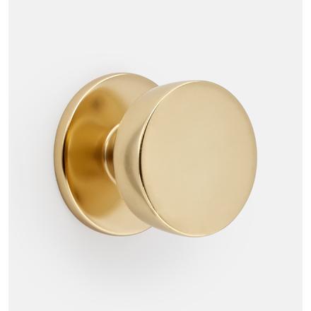Tumalo Brass Interior Door Knob Set