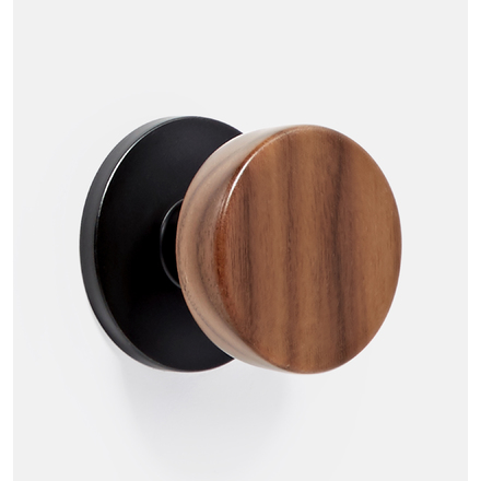 Ordinaire Tumalo Walnut Interior Door Knob Set