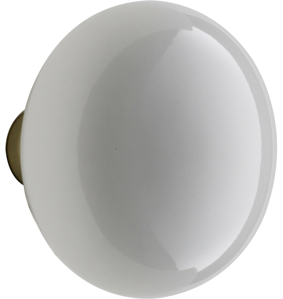 Charming Hardware · Door Parts; White Porcelain Knob. Z010086