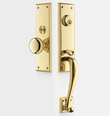 Putman Knob Exterior Door Hardware Mortise Set Rejuvenation