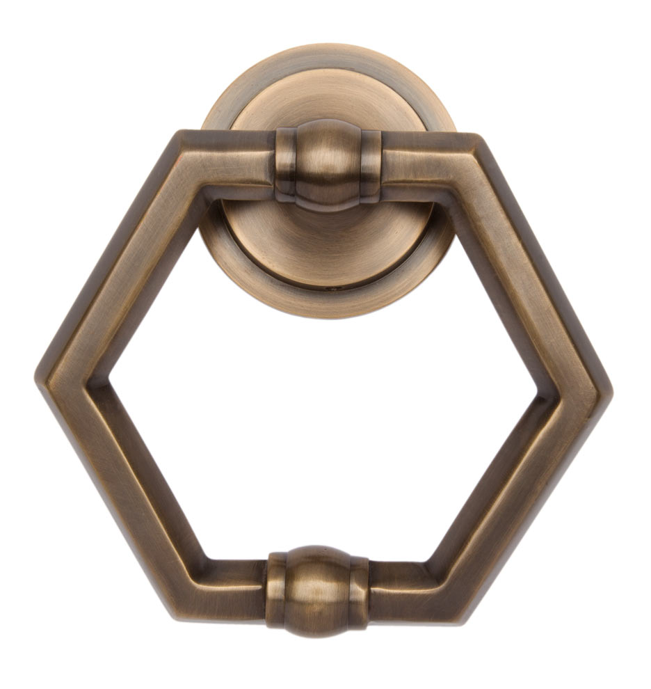 C5901 092614 test 5 c5901  sc 1 st  Rejuvenation & Hexagon Door Knocker | Rejuvenation