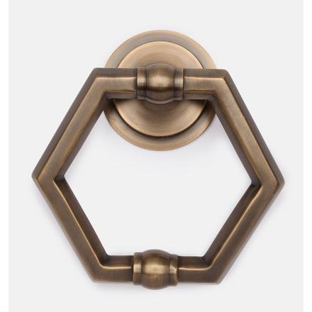 Hexagon Door Knocker
