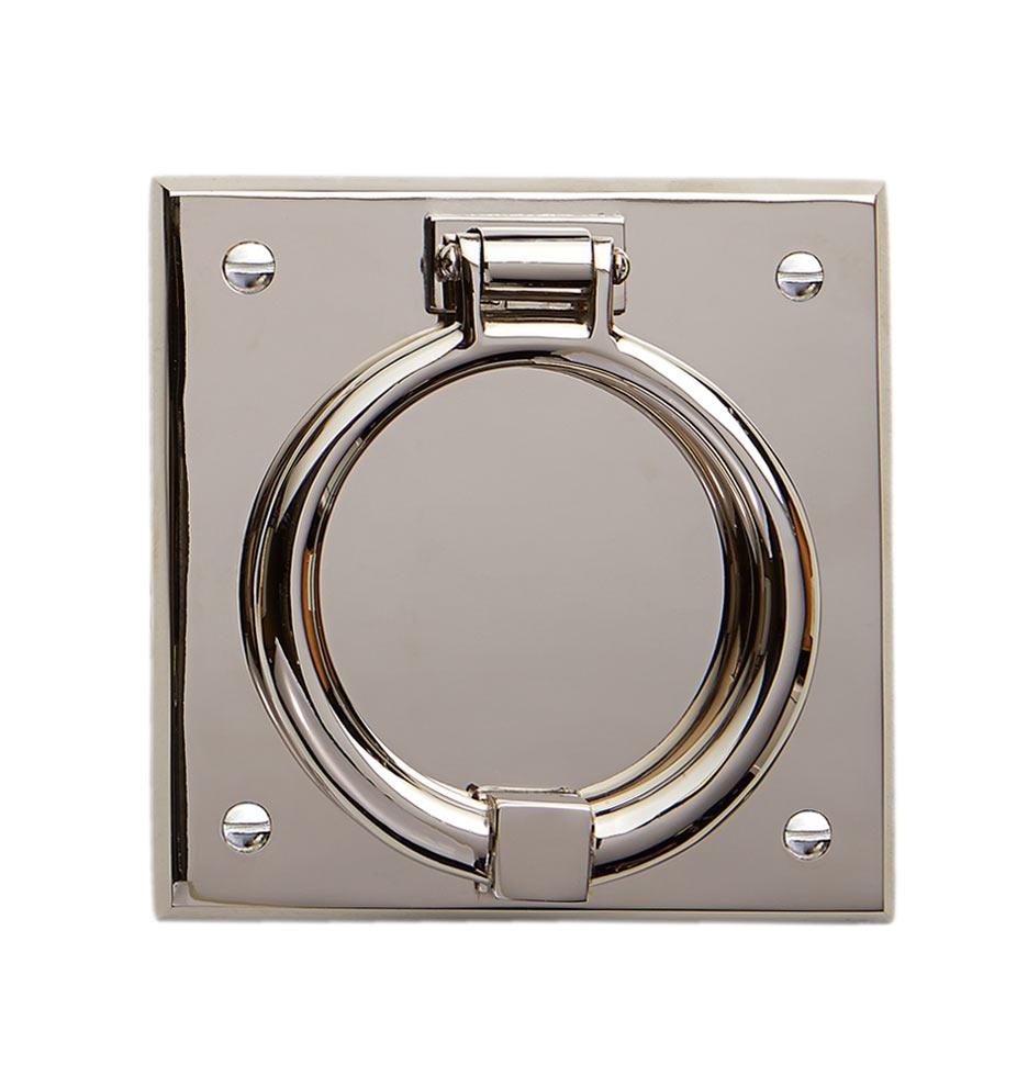 ... Ring On Beveled Square Door Knocker. Ships FREE. 140904 Rc Y14b06 U 11  35730 C5904 Pn