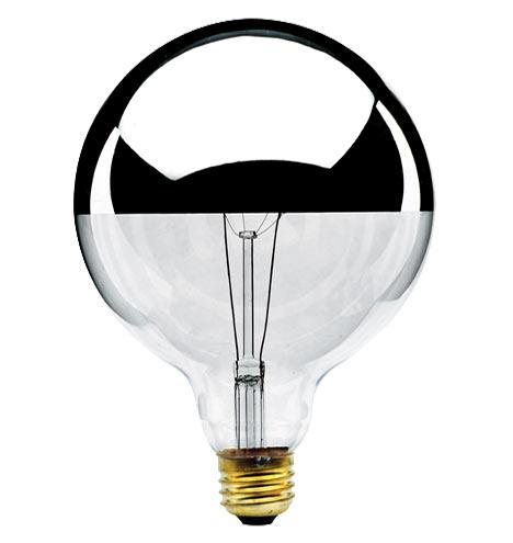 60W G40 Chrome Tip Bulb