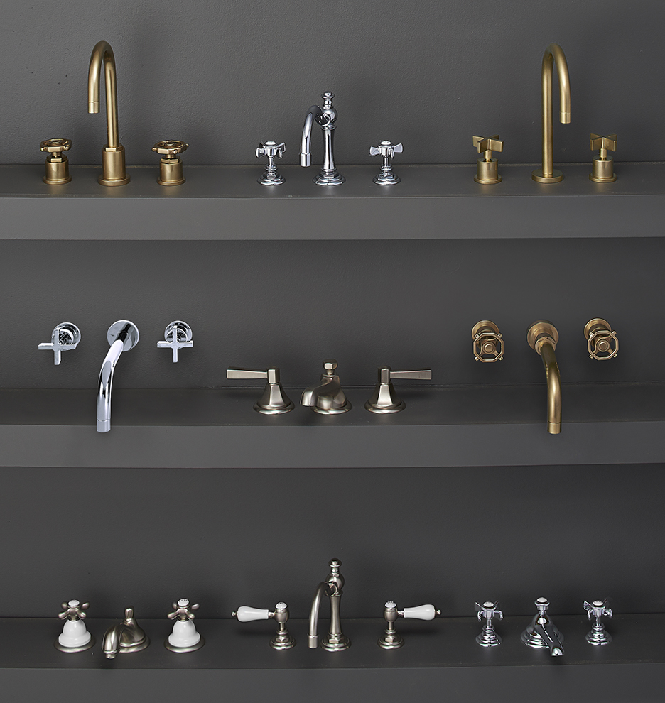 Connor Cross Handle Widespread Bathroom Faucet | Rejuvenation