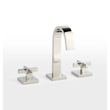 Bathroom Fixtures Rejuvenation - White bathroom faucet fixtures