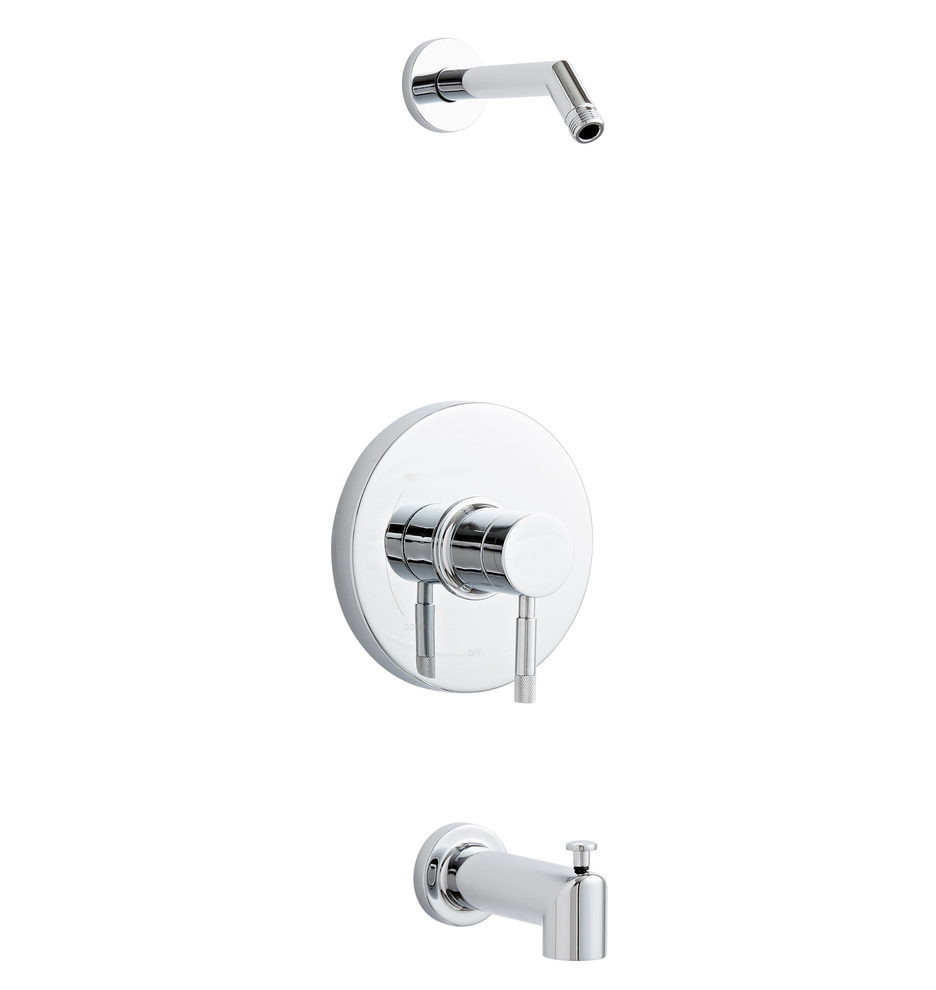 Vanport Pressure Balanced Tub And Shower Set with Diverter Spout ...
