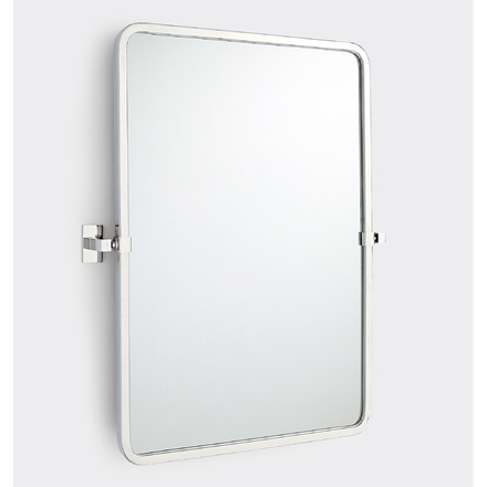 Attirant Yaquina Rounded Rectangle Pivot Mirror