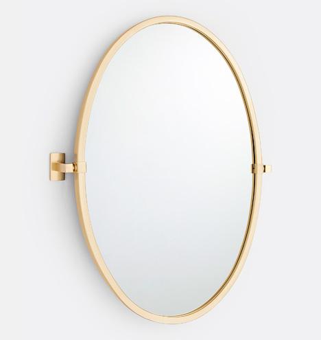 Yaquina Oval Pivot Mirror Rejuvenation