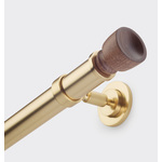"1-3/8"" Drapery Rod with McDowell Finial"