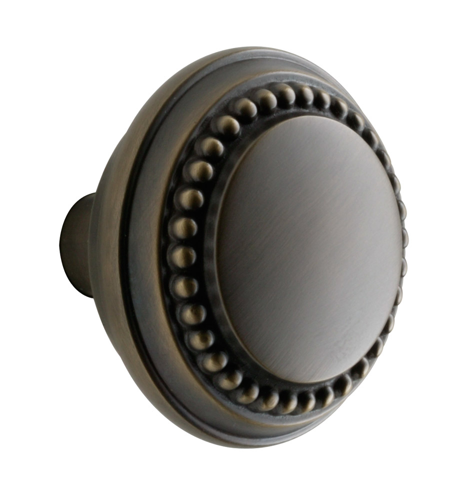 Z010070  sc 1 st  Rejuvenation & Beaded Round Door Knob | Rejuvenation